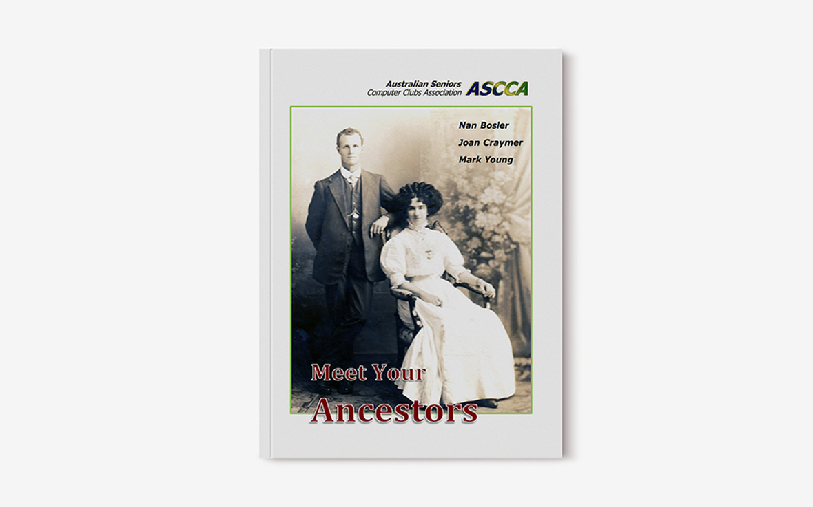 Meet your ancestors book cover featuring historical photograph