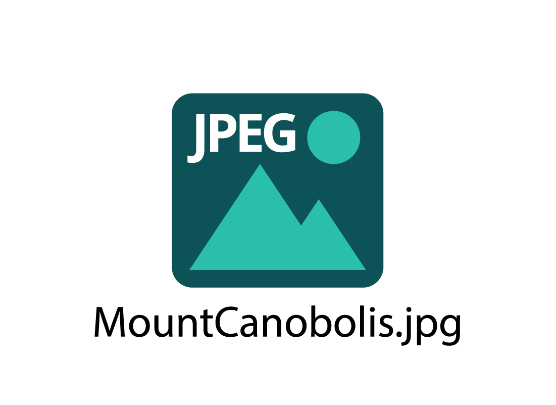 Example of jpg icon and filename
