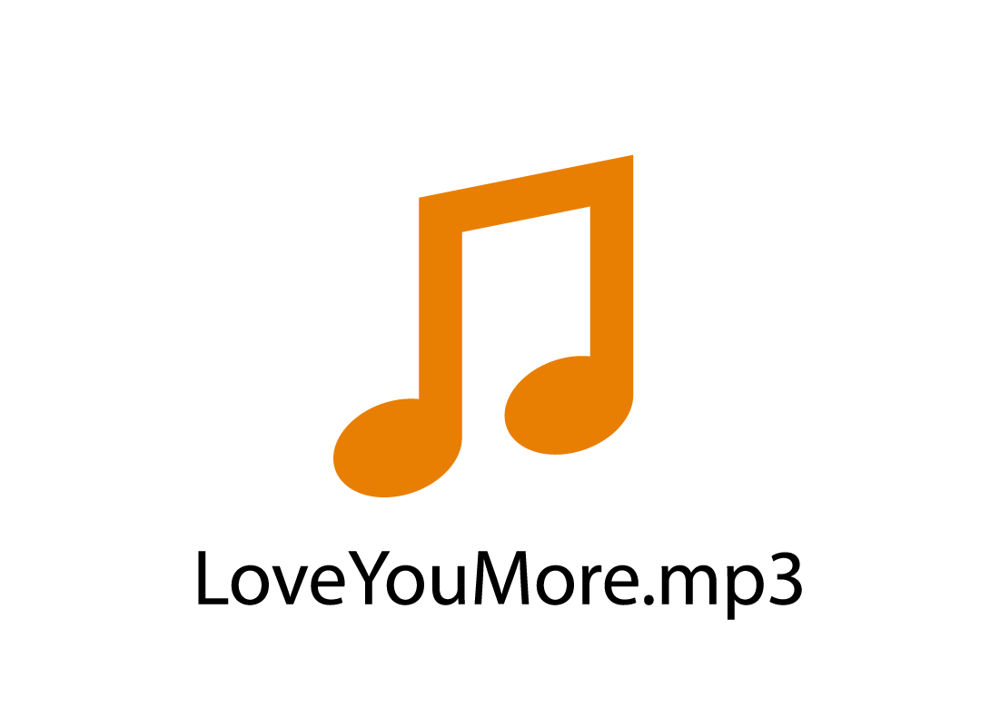 Example of mp3 icon and filename