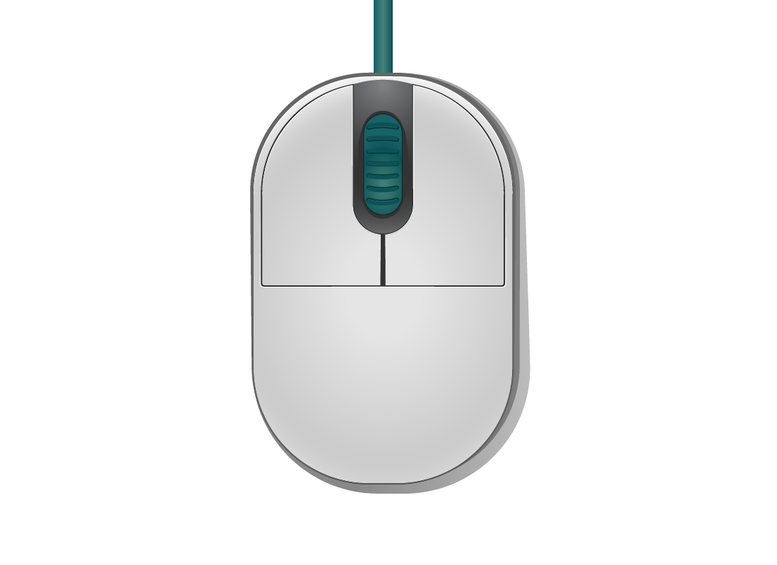 an analogue computer mouse