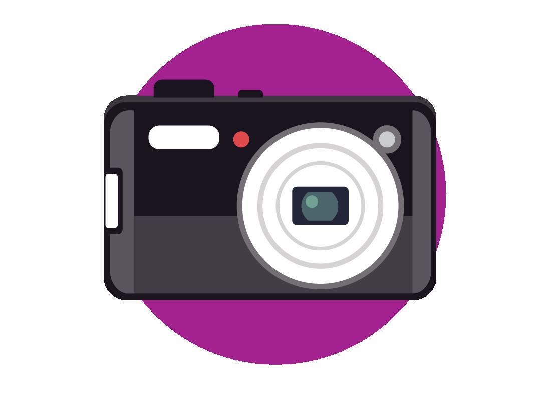 a computer icon for a camera