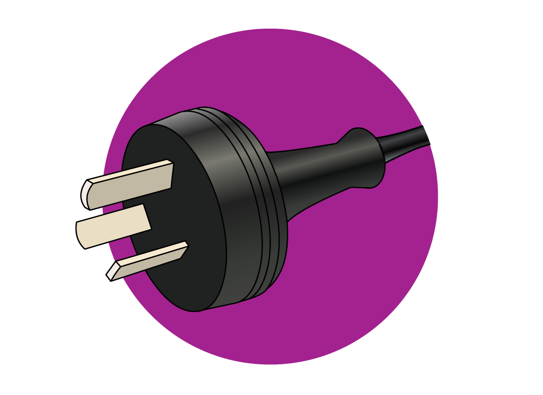 a plug for a computer
