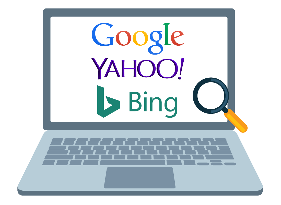Using search engines: Benefits of using search engines: