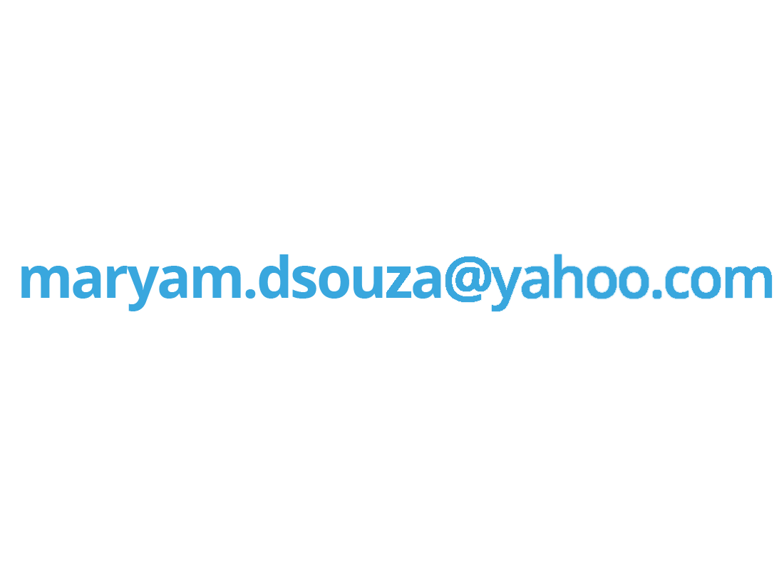 An example of Maryam's email address