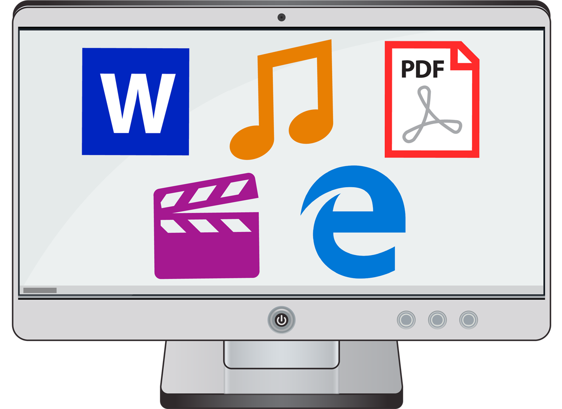 A computer screen showing some program icons