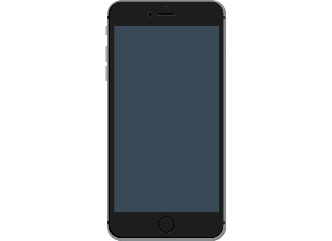An example of a typical smartphone