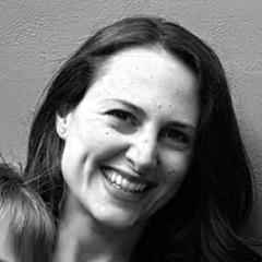 Black and white headshot of author - Yara Khalife