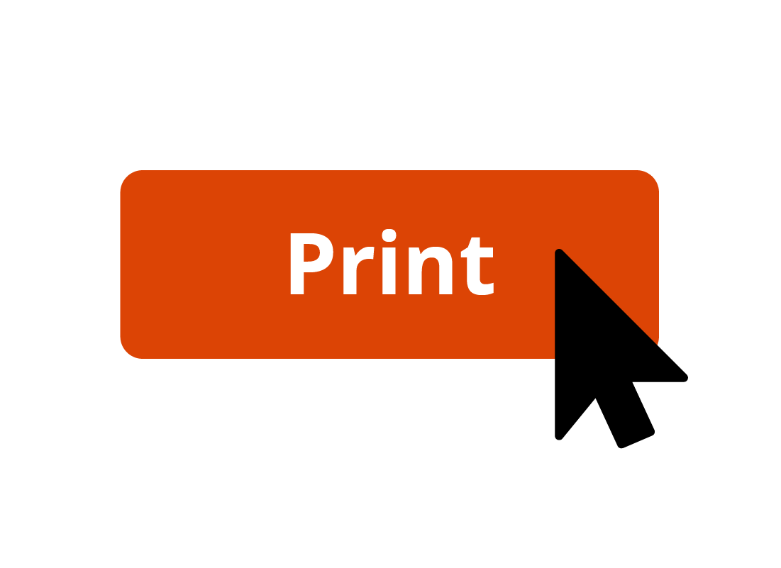 An image of a print button about to be clicked