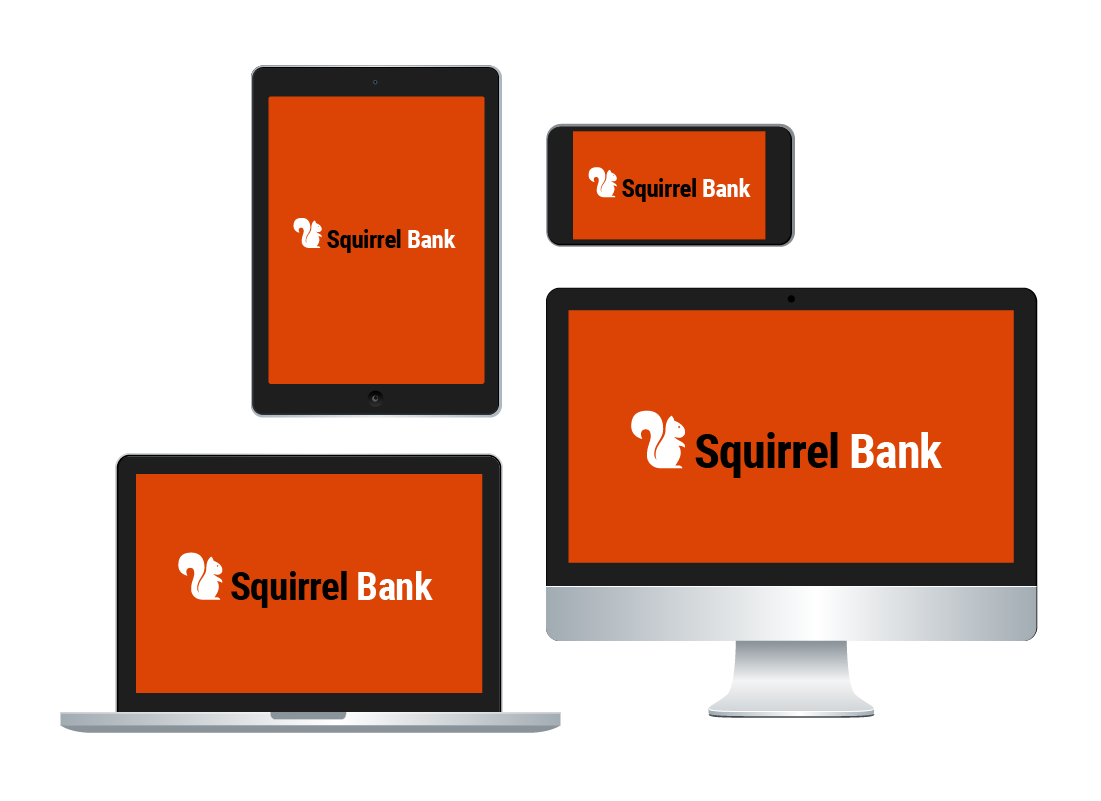 A laptop computer, desktop computer, mobile phone and tablet can all be used to bank online