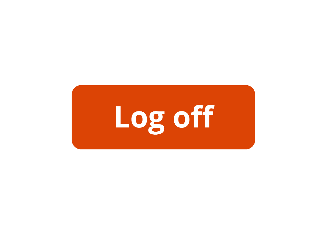 The Log off button