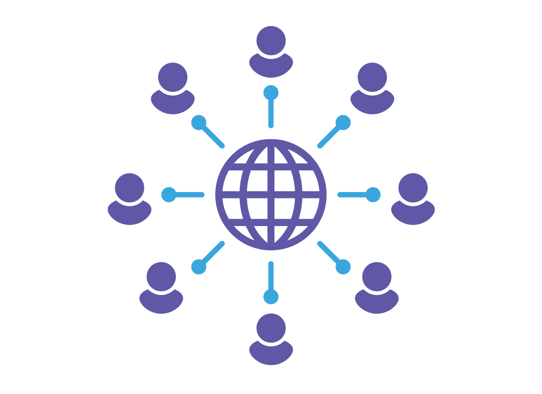 You can connect to friends from anywhere in the world using social media.