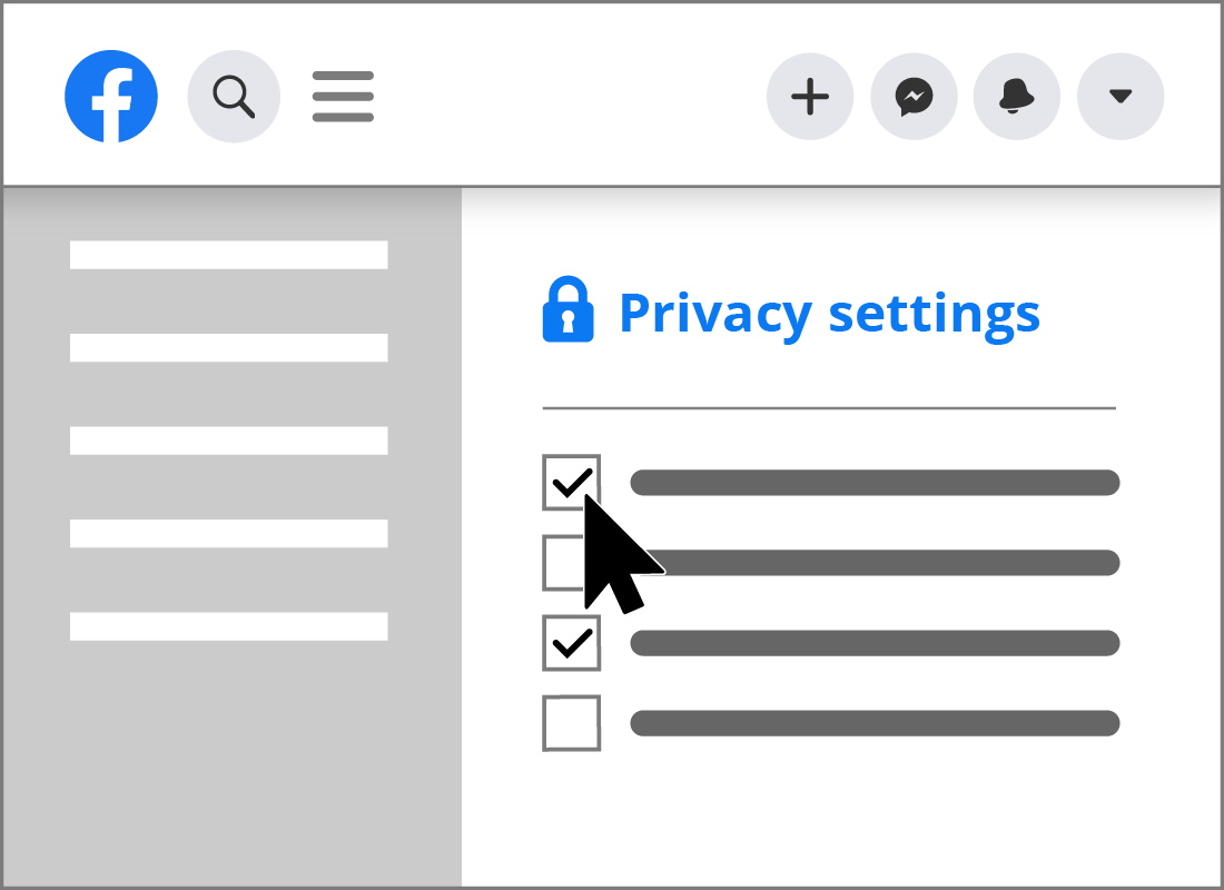 Privacy settings on social media are very important and should be reviewed as soon as you sign up for an account.