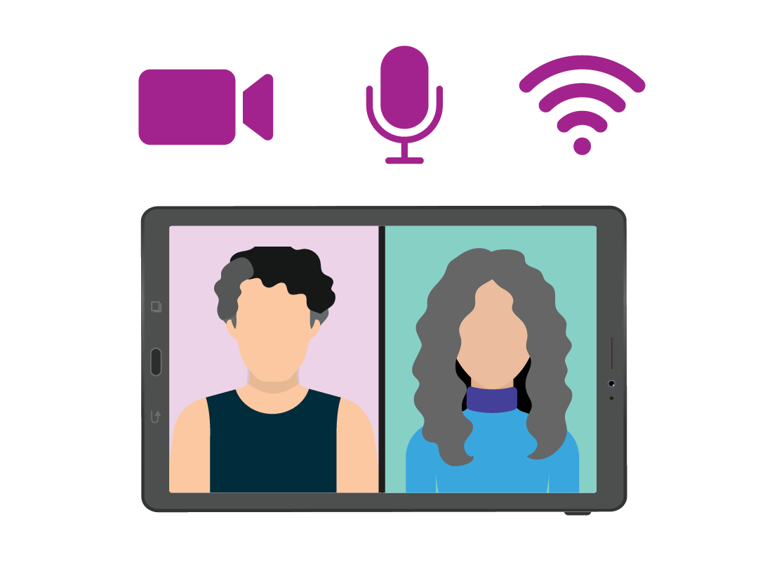 You need a computer or smart device that has a microphone and a camera installed to be able to use Zoom.