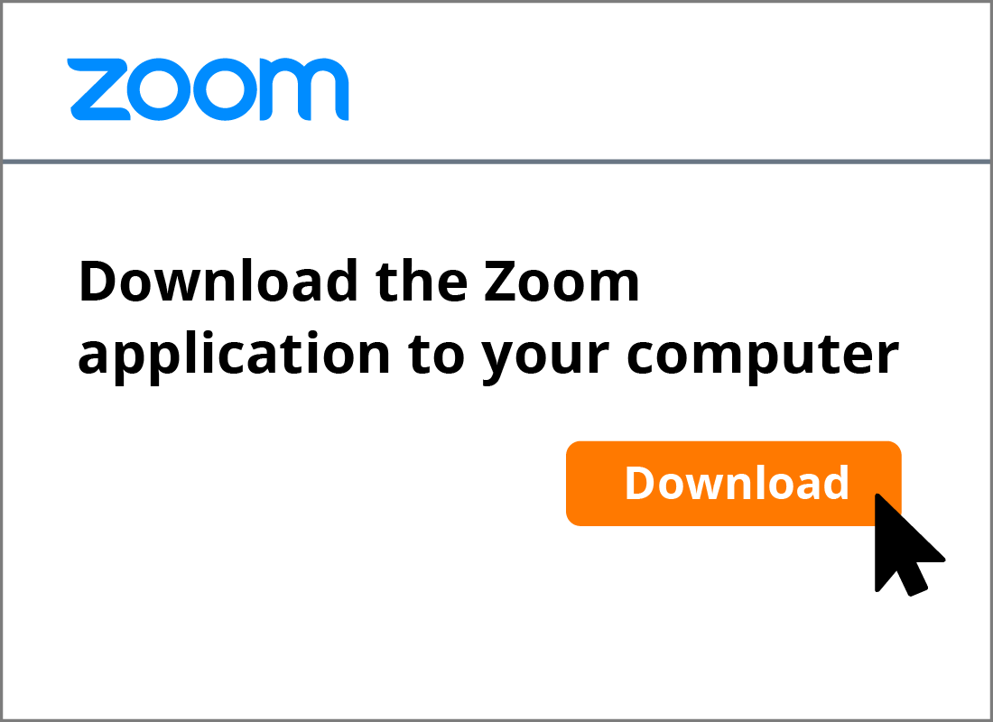 The Download button to download Zoom to your computer.