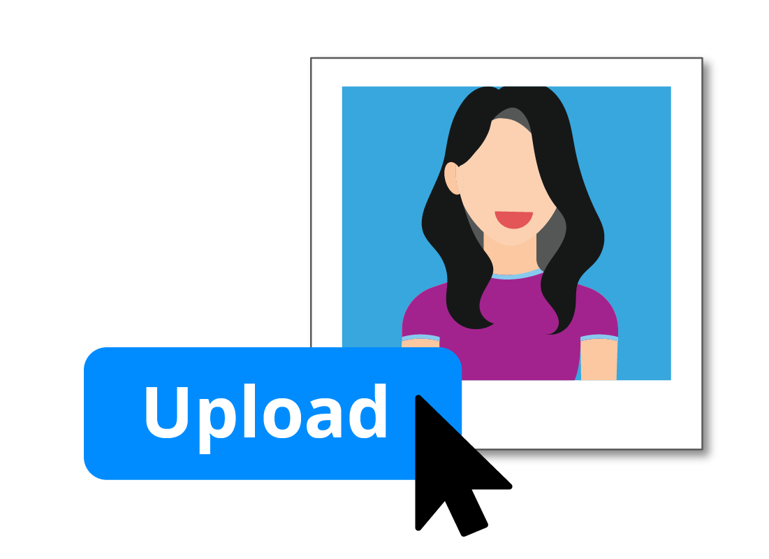 You can upload an image to use as your profile picture in Zoom.