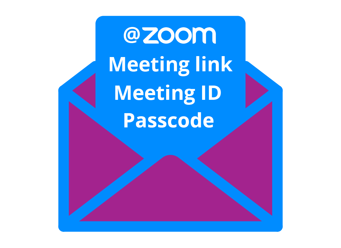 The Zoom invitation contains key information to allow Participants to join the call.