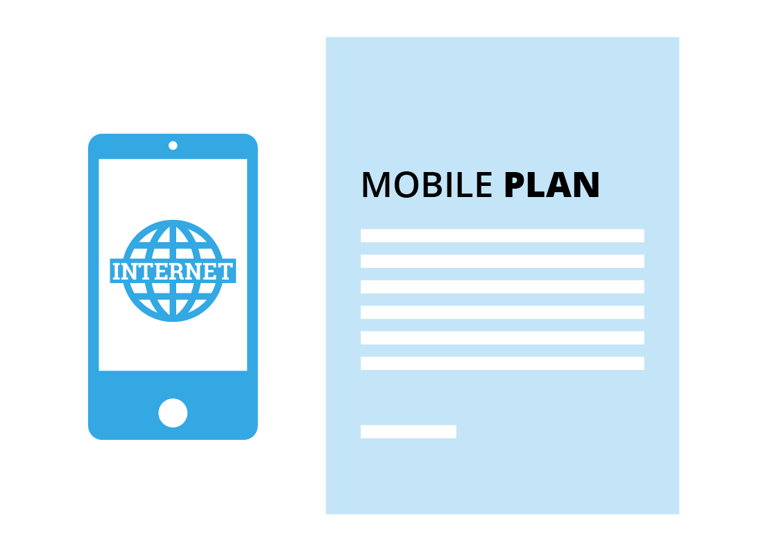 You can buy a mobile plan with or without a handset and vice versa