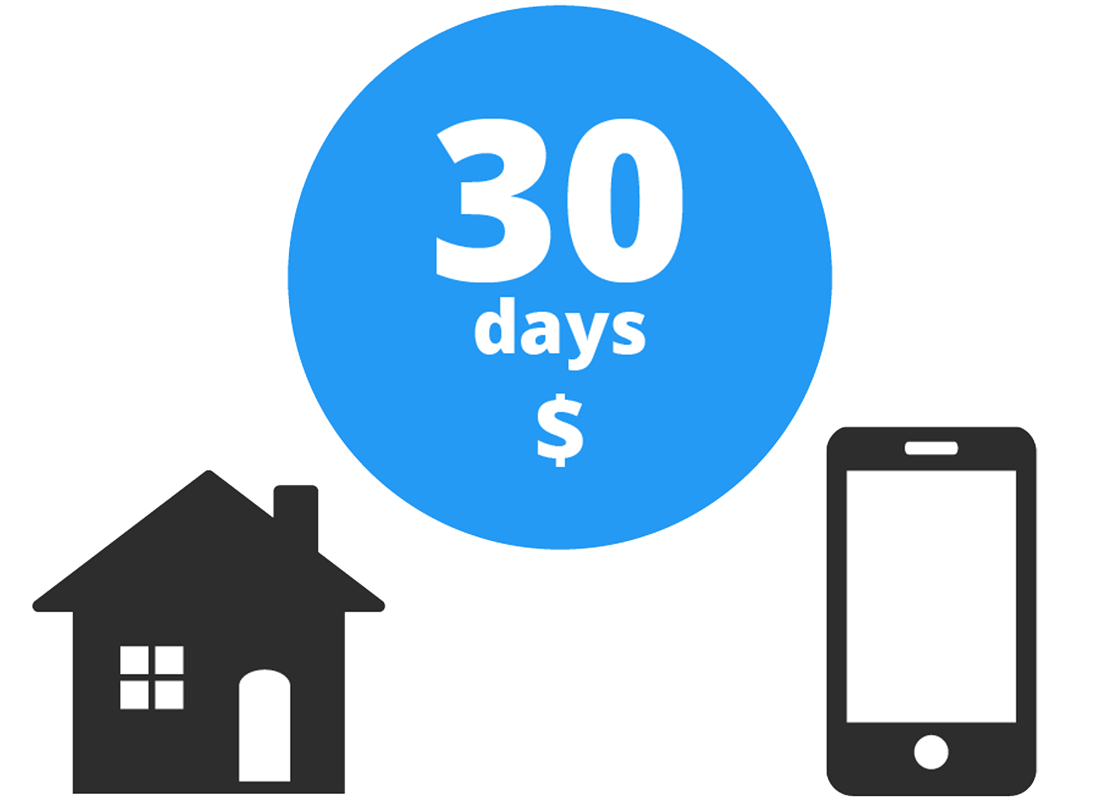 The usual billing period for a data plan is a certain day every month