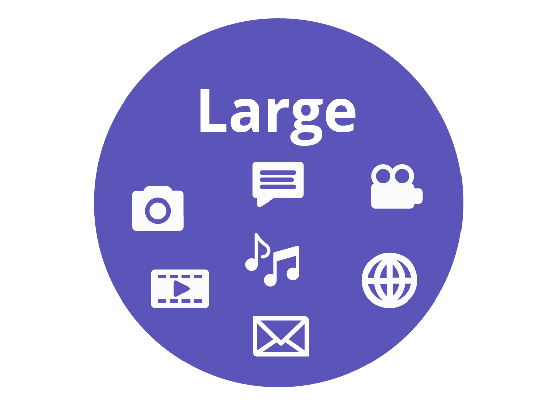 Large internet plans offer a lot of data