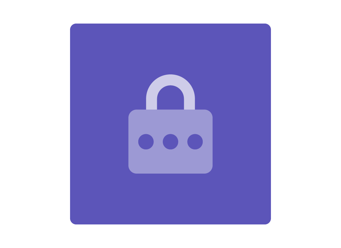 An icon of a padlock