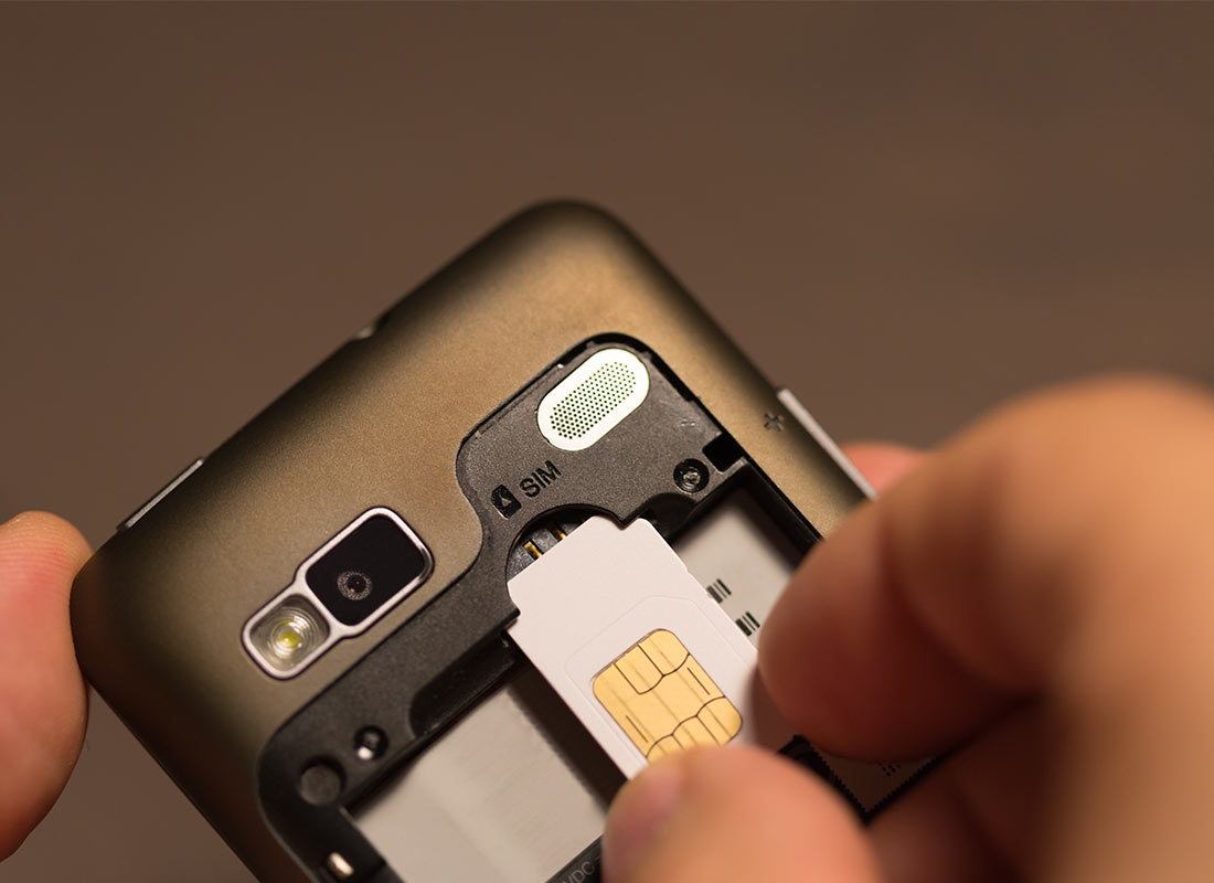 SIM cards identify your mobile phone as you, and allow you to connect to the mobile network