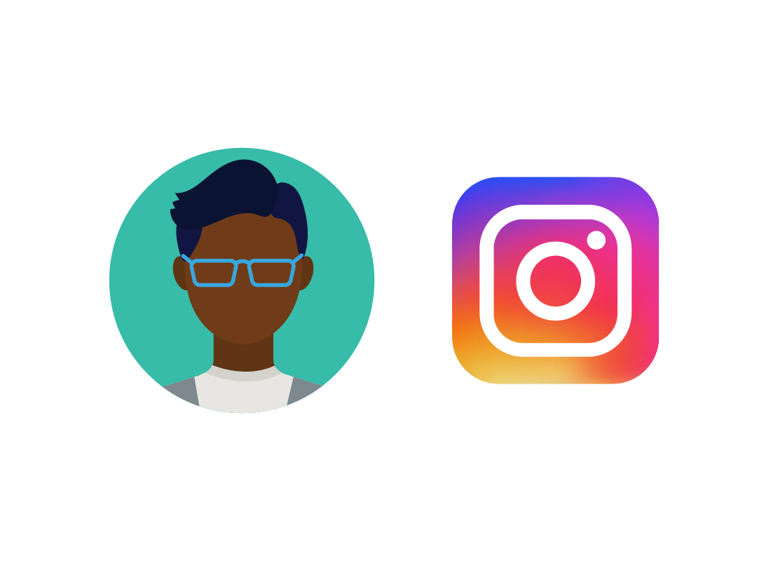 The Instagram icon and Jeremy's profile photo