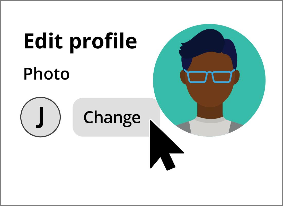 Adding a profile photo to a Pinterest account