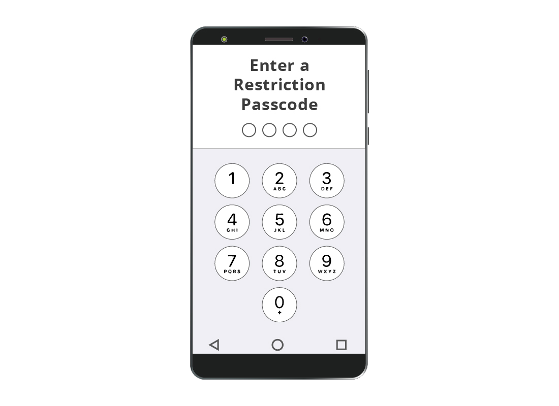 A four-digit restriction code is a way of preventing unexpected expenditure on in-app purchases on your iPhone or iPad