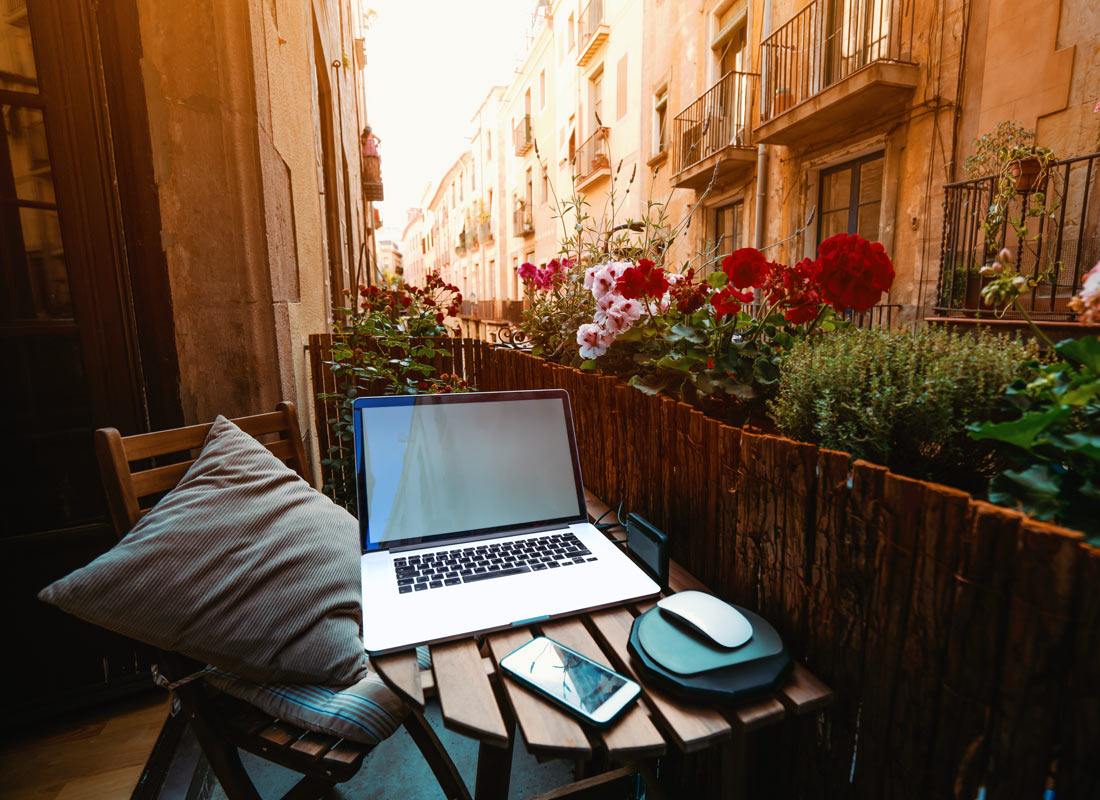 Travel the world and capture your journey by writing a blog as you go