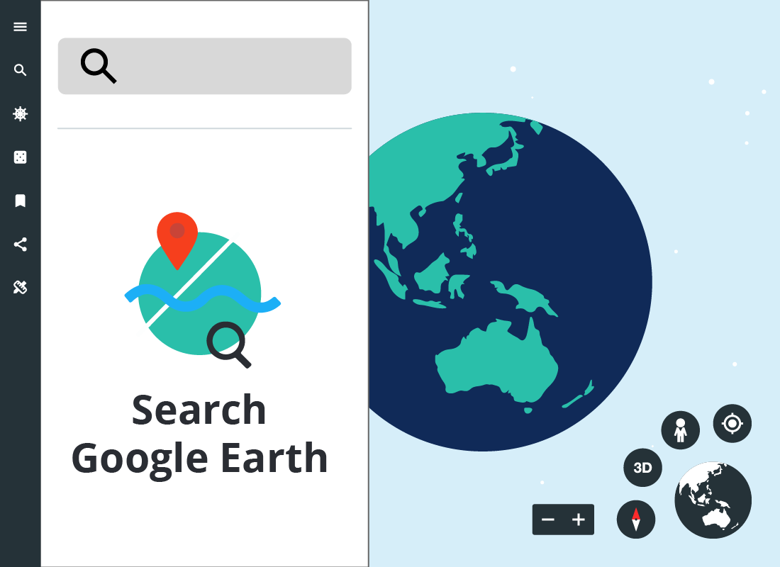Exploring Google Earth: Find yourself on Google Earth!: