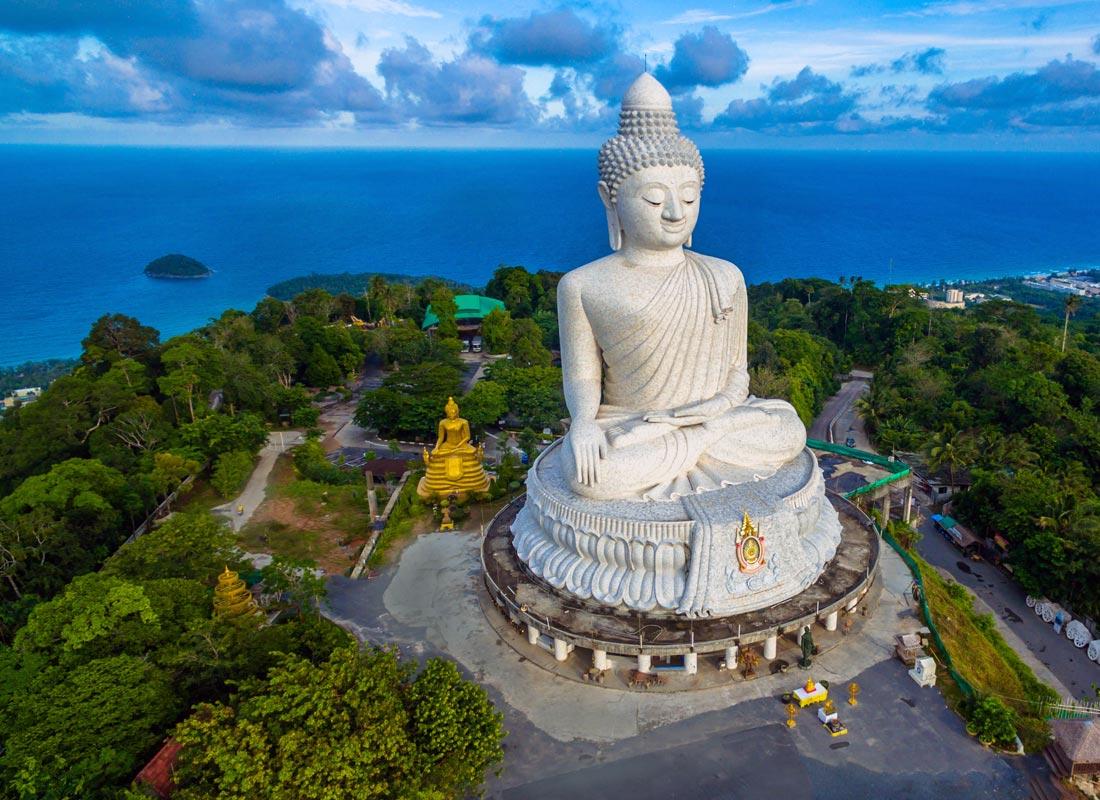 The Big Buddha in Phuket, Thailand