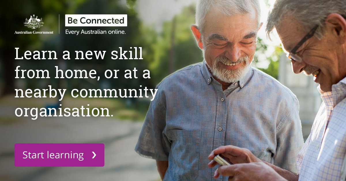 Be Connected - Every Australian online